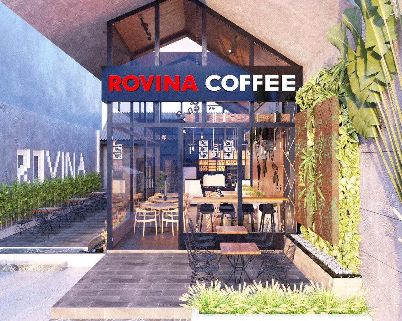 mở quán cà phê